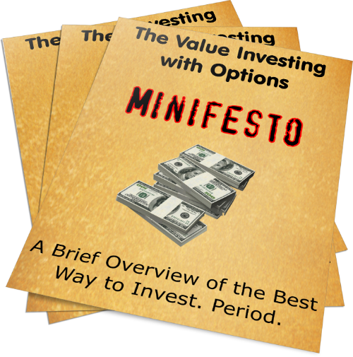 free exclusive value investing with options report