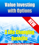 value investing with options